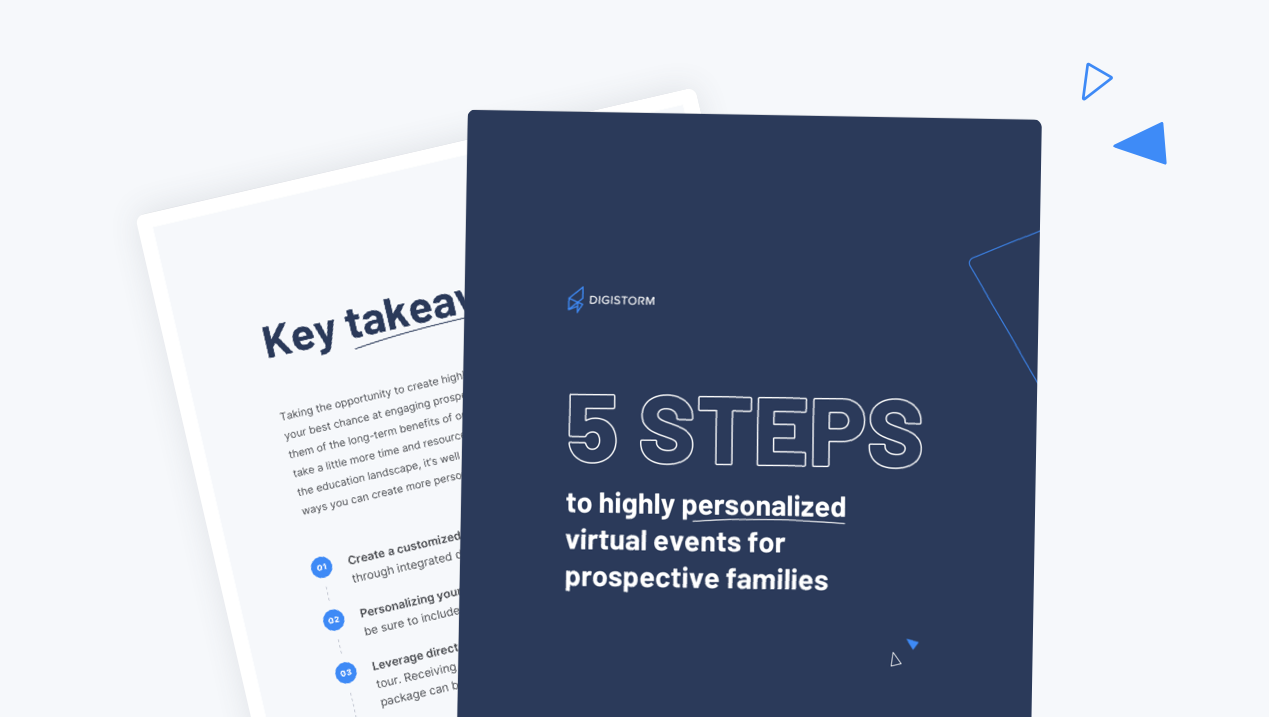 5 steps to highly personalized events